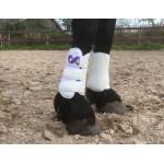 Luxe beenbeschermers voorbeen